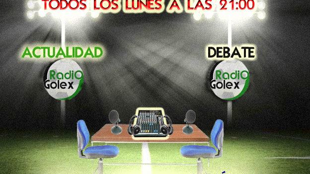 Escucha La Tertulia Radiogolex 31-03-14