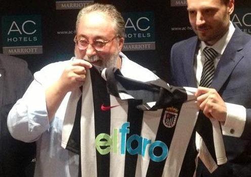 Fernando Valbuena: «Hay gente que quiere entrar. Pero vale más corazón blanquinegro que dinero»