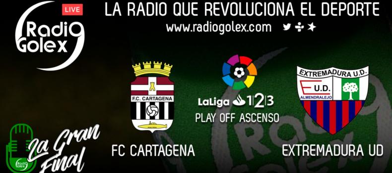 DIRECTO: EXTREMADURA vs CARTAGENA – IDA Playoff – Final Ascenso Liga 123