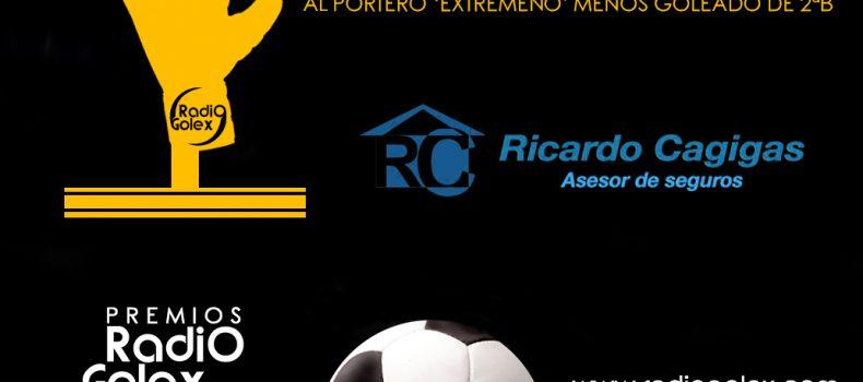 TROFEO RICARDO CAGIGAS – AL MEJOR PORTERO DE 2B