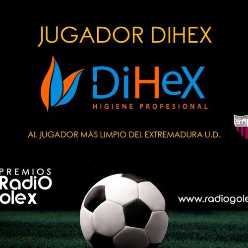 TROFEO DIHEX – Al Jugador Más Limpio del Extremadura UD