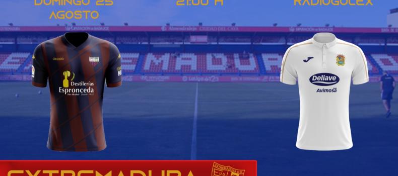 JORNADA 2: EXTREMADURA vs FUENLABRADA