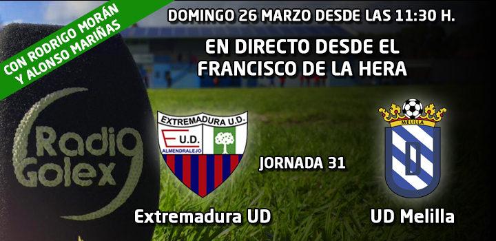 PRÓXIMO DIRECTO: Extremadura UD vs Melilla