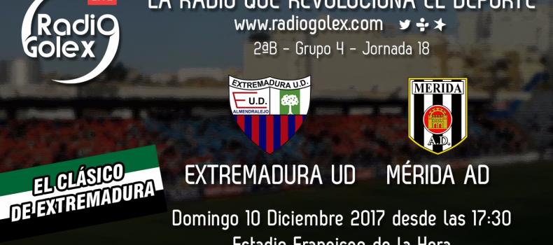 EXTREMADURA vs MÉRIDA – Jornada 18