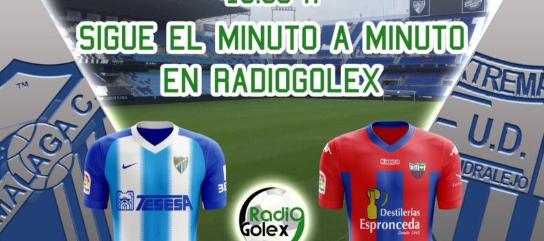 MINUTO A MINUTO: MÁLAGA vs EXTREMADURA (Jornada 33 – Liga 123)
