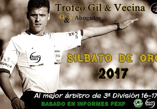 TROFEO GIL & VECINA – SILBATO DE ORO 2017