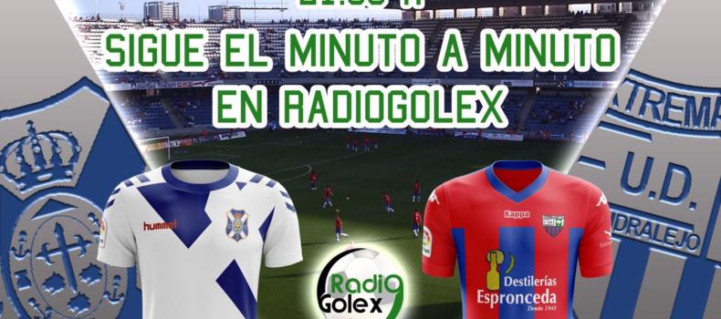 MINUTO A MINUTO: TENERIFE vs EXTREMADURA (Jornada 17 – Liga 123)