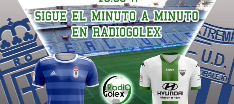 MINUTO A MINUTO: REAL OVIEDO vs EXTREMADURA (Jornada 1 – Liga 123)