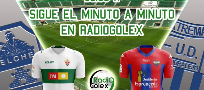 MINUTO A MINUTO: ELCHE vs EXTREMADURA (Jornada 26 – Liga 123)