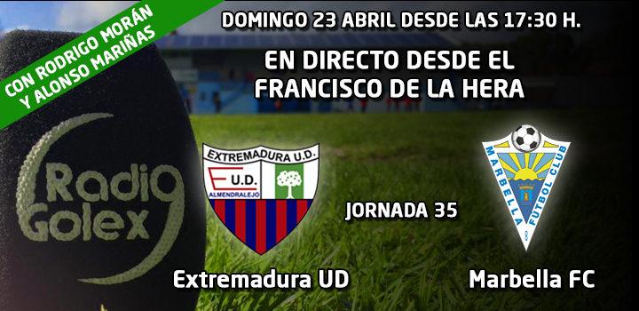 PRÓXIMO DIRECTO: Extremadura UD vs Marbella