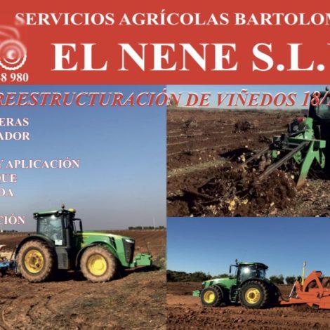 SERVICIOS AGRÍCOLAS 'EL NENE'