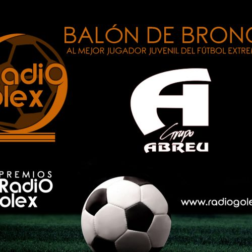 BALÓN DE BRONCE 'GRUPO ABREU' 2018