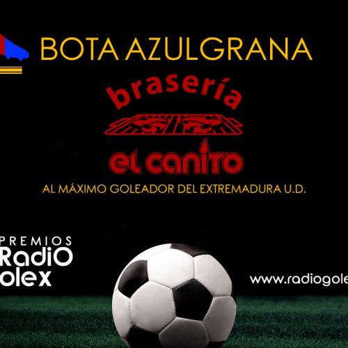 BOTA AZULGRANA DE BRASERÍA EL CANITO 17-18
