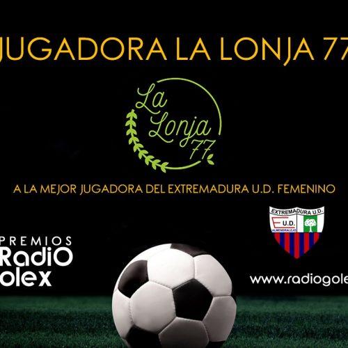 JUGADORA 'LA LONJA 77' DEL EXTREMADURA FEMENINO 17-18