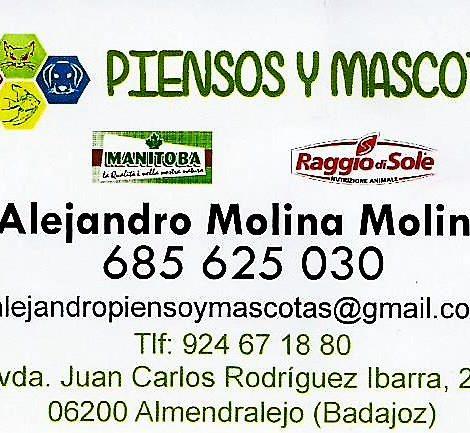 PIENSOS Y MASCOTAS