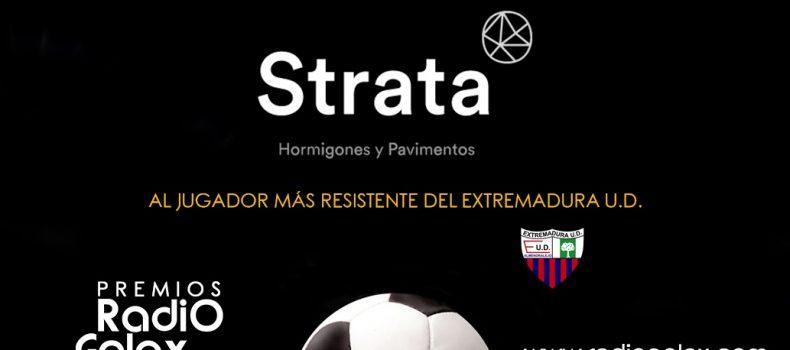 JUGADOR STRATA DEL EXTREMADURA 2017 2018
