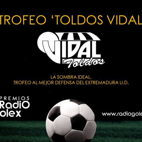 TROFEO TOLDOS VIDAL – SOMBRA IDEAL – MEJOR DEFENSA DEL EXTREMADURA 17 18