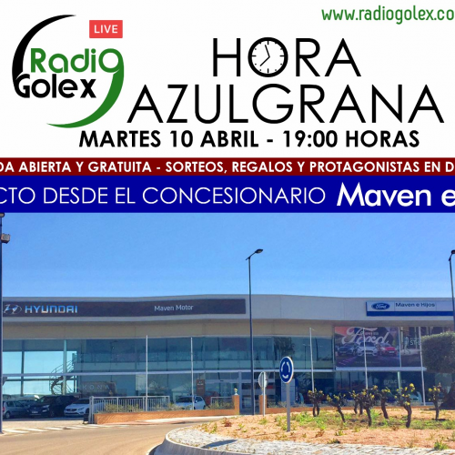 HORA AZULGRANA – 10-04-18