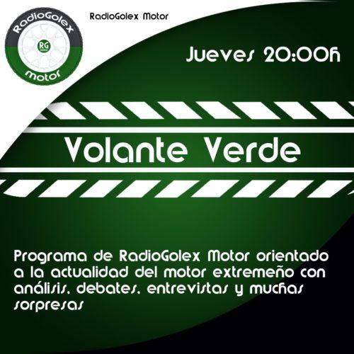 VOLANTE VERDE – MOTOR 19-11-20